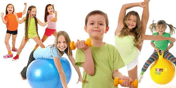 Фітнес вправи для дітей