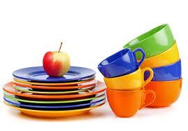Колір посуду і схуднення