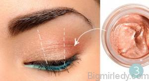 Літній макіяж очей натуральність і сяйво_3