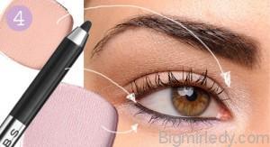 Літній макіяж очей натуральність і сяйво_9