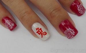 Ієрогліфи на нігтях - 7