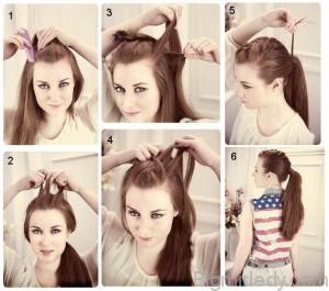 8 красивих зачісок на довге волосся - 2