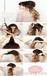 8 красивих зачісок на довге волосся   4