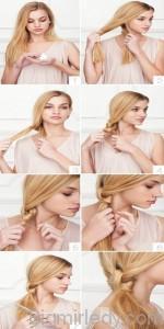 8 красивих зачісок на довге волосся 7