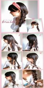 8 красивих зачісок на довге волосся -  8