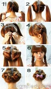 8 красивих зачісок на довге волосся_1