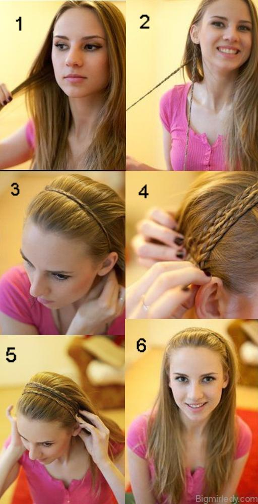 Прически с тонкими волосами своими руками