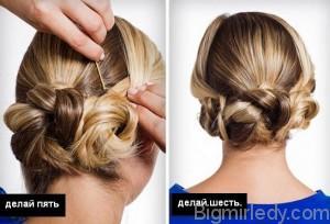 Красиві зачіски своїми руками на середні волосся. Ефектні варіації на кожен день 3