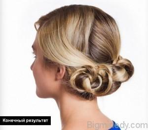 Красиві зачіски своїми руками на середні волосся. Ефектні варіації на кожен день 4