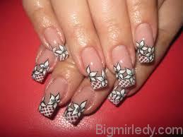 Дизайн розпису нігтів акрилом