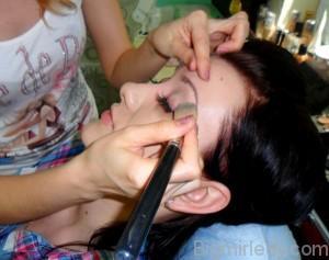 Вечірній макіяж в ретро стилі - 1
