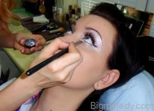 Вечірній макіяж в ретро стилі - 10