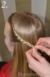 Зачіска змійка 2