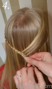 Зачіска змійка 4