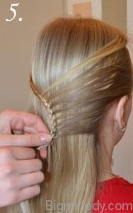 Зачіска змійка 5