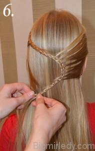 Зачіска змійка 6