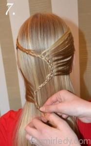 Зачіска змійка 7