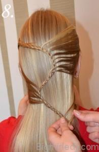 Зачіска змійка 8