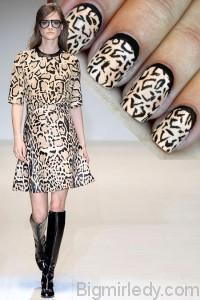 Нігті під стать сукні як зробити манікюр в стилі нарядів Gucci і Alberta Ferretti 1