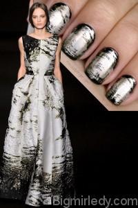 Нігті під стать сукні як зробити манікюр в стилі нарядів Gucci і Alberta Ferretti 6