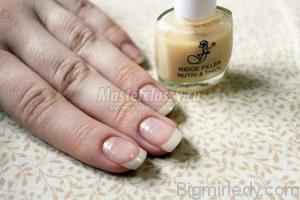 Майстер-клас з розпису нігтів «Білі троянди»2