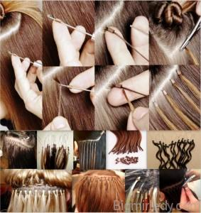 Капсульне нарощування волосся 1