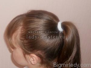 Святкова зачіска для дівчинки в домашніх умовах 1