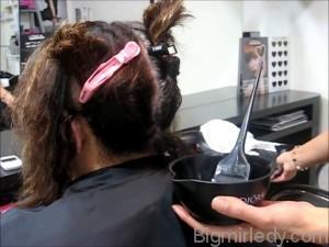 Кератинове вирівнювання вирішення проблеми кучерявого волосся 2