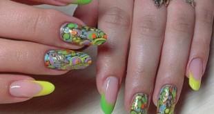Малюнки на нігтях в абстрактному стилі як правильно робити манікюр