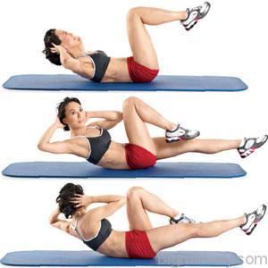 Найкращі вправи для схуднення боків і живота 10