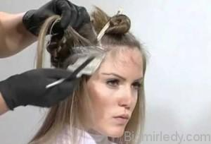 Мелірування - популярний спосіб фарбування волосся 3