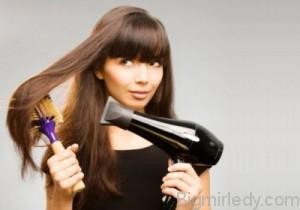 Як вирівнювати волосся самостійно