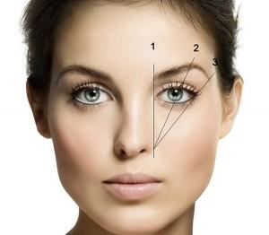 Створюємо красиву форму брів для кругленького обличчя 6