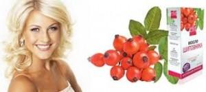 Застосування олії і відвару шипшини для волосся