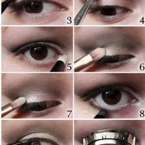 Макіяж для очей з навислою повікою 5