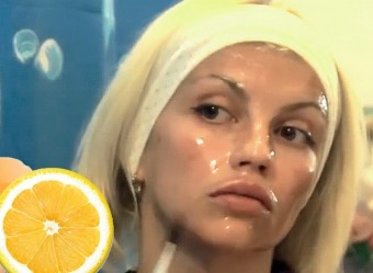 Лимонна кислота для очищення обличчя