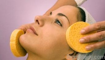 Очищення обличчя хлоридом кальцію