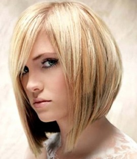 Оригінальна стрижка ззаду коротке, а спереду довге волосся