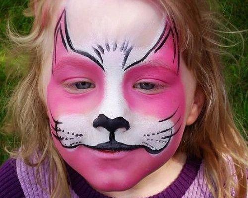 Робимо макіяж на Хеллоуїн для дітей 2