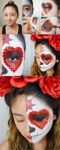 Робимо макіяж на Хеллоуїн для дітей 3