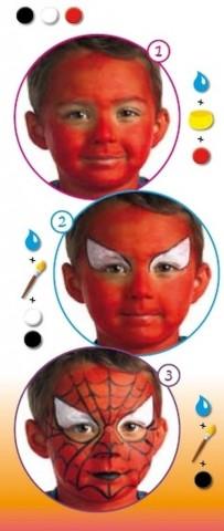 Робимо макіяж на Хеллоуїн для дітей 4