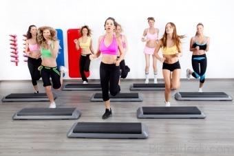 Вправи на степ платформі спалюємо жир вдома