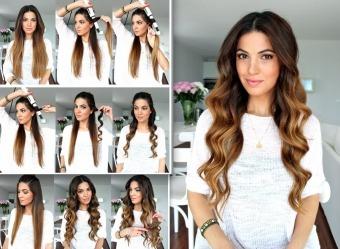 Як накрутити волосся утюжком правила бездоганного укладання 1