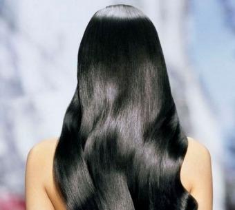 глянцювання волосся