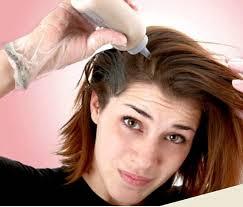Алергія лікування на засоби для фарбування волосся