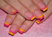 Дизайн нігтів гелевих створення модного дизайну 1