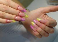 Дизайн нігтів гелевих створення модного дизайну 2