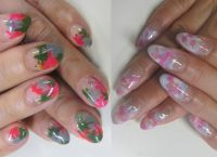 Дизайн нігтів гелевих створення модного дизайну 3
