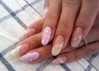 Дизайн нігтів гелевих створення модного дизайну