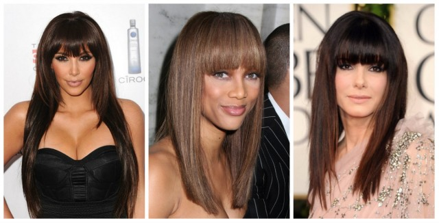 Довге волосся стрижки креативні, симетричні і асиметричні 2
